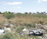 Sólo basura y yerba quedó de un parque