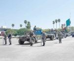 Rotación normal la salida de Fuerzas Federales en Reynosa