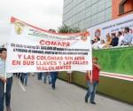 Se trabaja hasta con las uñas dice líder sindical de la COMAPA