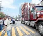 Asegurarán unidades con que cuenta sindicato de camioneros