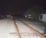 Identifican a triturado por el tren