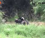 Reynosa: Asesinan a sujeto y lo colocan sobre llantas