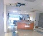 Causan estragos en Centro de Salud