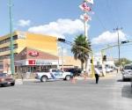Continúa caos vehicular en el boulevard Hidalgo