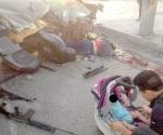 A resguardo de familia niños que perdieron a su madre en una balacera