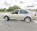 Asegura la PF auto con reporte de robo