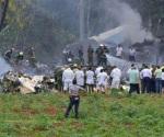 Cae avión con 104 pasajeros tras despegar de La Habana