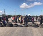 Mantienen pescadores el bloqueo en Matamoros