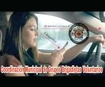 Exhortan brigadistas a usar cinturón de seguridad para prevenir accidentes fatales