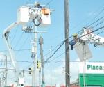 Falla en subestación de la CFE causa suspensión en 20 colonias de Reynosa