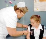 Agilizan la vacunación Vs Virus del Papiloma