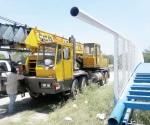 Avisa Protección Civil la presencia de grúa en Olmo y Arboledas