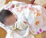 En proceso de adopción está bebé abandonado