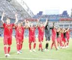Bélgica golea a Panamá
