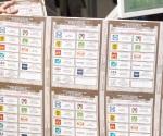 Código de seguridad en boletas, crayones y líquido indeleble para evitar las falsificaciones