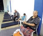 Llegan primeros evacuados de colonias inundadas al albergue del Auditorio