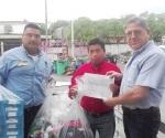 Apoya Banco de Alimentos a damnificados por lluvias