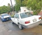 Aseguran Estatales vehículo abandonado y reporte de robo