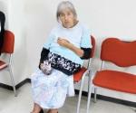 Piden ayuda para mujer de la tercera edad que no camina