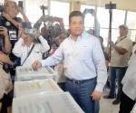 Ofrecen seguridad en la jornada de elecciones el estado