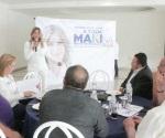 Devolveremos voto de confianza con obras inmediatas: Maki Ortiz