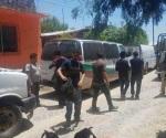 Salvan federales y estatales a 54 indocumentados en Díaz Ordaz