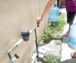 Toma agua potable, paga  lo que debes