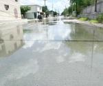 Sufren en La Leal Puente brote de aguas residuales