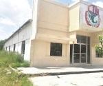 Edificio de trabajadores en abandono