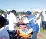 Chocan alumnos del Politécnico, 4 heridos