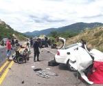 Choque en Guerrero; 5 muertos y 5 heridos