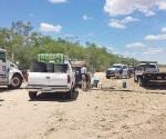 Aseguran combustible robado y 8 vehículos