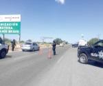 Instala Federal retén carretero