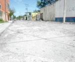Intransitables calles de la Aquiles Serdán