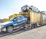Topan exportación de autos mexicanos