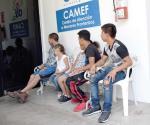 Se incrementa la atención asistencia a niños migrantes