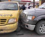 Lesionado en accidente vehicular en Reynosa