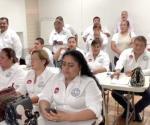 Reciben delegados de maquiladoras curso de liderazgo