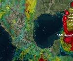 Michael es categoría 2 y afectará Yucatán, Quintana Roo y Campeche