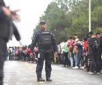 Trump agradece a México respuesta ante caravana