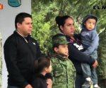 Honran con 'soldado honorario por un día' a Brandon Axel Martínez