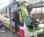 Choca Mexibús en Ecatepec; hay 22 heridos