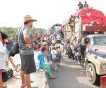 Afinan acciones por la caravana