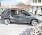 Embarazada lesionada en accidente vial