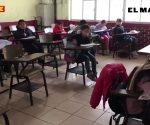 Baja temperatura provoca ausentismo escolar en Reynosa