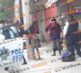 Amarran a un poste a jovencita agresiva en Reynosa