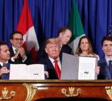 Peña Nieto, Trump y Trudeau firman el nuevo T-MEC